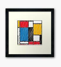 Color dutch Framed Print