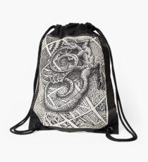 Salamander Drawstring Bag