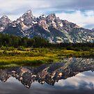Grand Tetons Reflections by Teresa Zieba