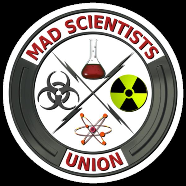 Mad Scientist Union Logo by Packrat