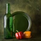 STILL LIFE WITH BELL PEPPERS by RakeshSyal
