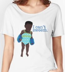 I Can't Sweem. Women's Relaxed Fit T-Shirt