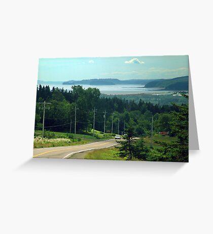 Glooscap Trail Greeting Card