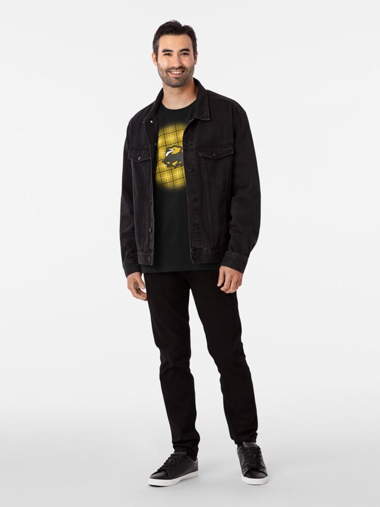 Alternate view of Badger House Plaid Premium T-Shirt