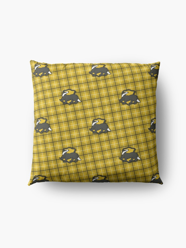 Alternate view of Badger House Plaid Floor Pillow