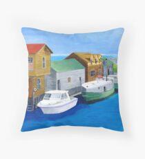 Fishtown Throw Pillow