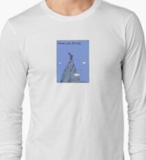 Woman with Altitude - Full colour Long Sleeve T-Shirt