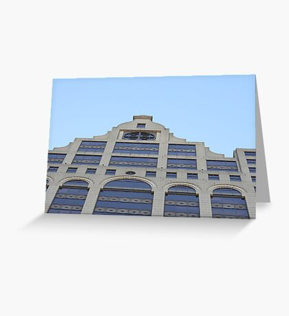 100 East Greeting Card