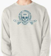 Skater emblem with skull  Pullover