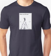 Woman With Altitude Unisex T-Shirt