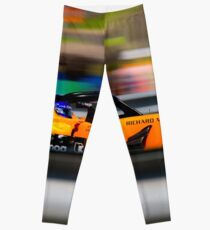 Fernando Alonso Hungary 2018 Leggings
