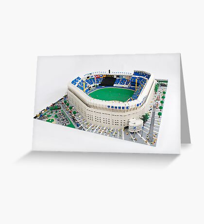 Yankee Stadium Greeting Card