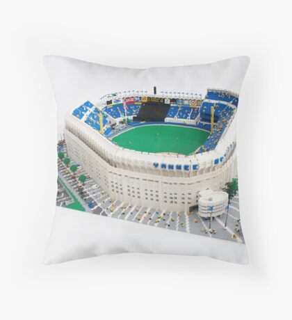 Yankee Stadium Throw Pillow