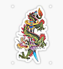 Dragon Tat Sticker