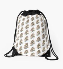 Dragon Tat Drawstring Bag