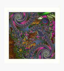 D1G1TAL-M00DZ ~ GALLIMAUFRY ~ Spring Rain by tasmanianartist Art Print