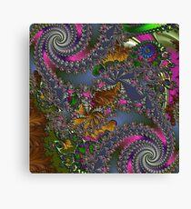 D1G1TAL-M00DZ ~ GALLIMAUFRY ~ Spring Rain by tasmanianartist Canvas Print