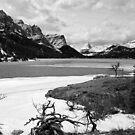 St Mary Lake  ~  Montana ~ USA by Barbara Burkhardt