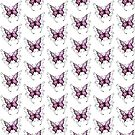 Purple Butterfly  by Keywebco
