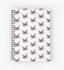 Purple Butterfly  Spiral Notebook