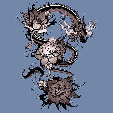Yokai Dragon by autoboxdesign
