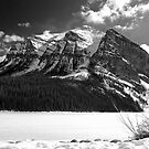 Fairview Mountain ~ Lake Louise  ~  Alberta by Barbara Burkhardt