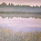 On Blue Pond (revised) by Lynne Kells (earthangel)