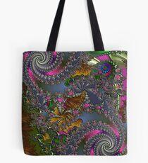 D1G1TAL-M00DZ ~ GALLIMAUFRY ~ Spring Rain by tasmanianartist Tote Bag