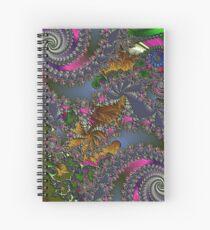 D1G1TAL-M00DZ ~ GALLIMAUFRY ~ Spring Rain by tasmanianartist Spiral Notebook