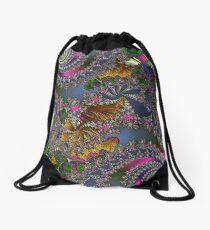 D1G1TAL-M00DZ ~ GALLIMAUFRY ~ Spring Rain by tasmanianartist Drawstring Bag