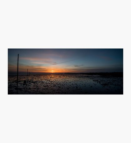 The Pilgrims Path, Northumberland Photographic Print