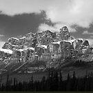 Castle Mountain ~ Banff National Park ~ Alberta by Barbara Burkhardt