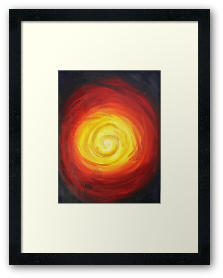 Hot Spot Framed Print