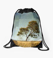Abstract Landscape Drawstring Bag