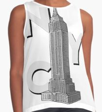 NYC Empire State  Contrast Tank