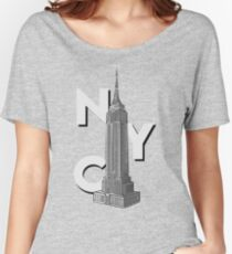 NYC Empire State  Women's Relaxed Fit T-Shirt