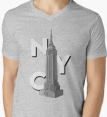 NYC Empire State  Men's V-Neck T-Shirt