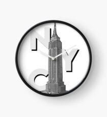 NYC Empire State  Clock
