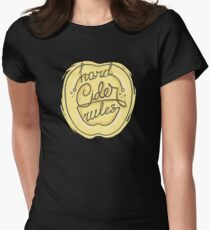 Hard Cider Rules Women's Fitted T-Shirt