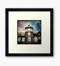 La Maison à Colombages Framed Print