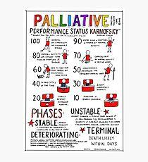 Palliative Performance Status  Photographic Print
