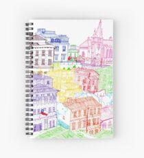 Valparaiso-Chile  Spiral Notebook