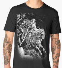 DEATH, Death on the Pale Horse, Revelation, Revenge, Gustave Doré, (1865), Revelations, Seven Seals Men's Premium T-Shirt