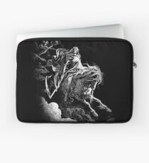 DEATH, Death on the Pale Horse, Revelation, Revenge, Gustave Doré, (1865), Revelations, Seven Seals Laptop Sleeve