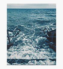 Atlantic Ocean 'Into The Sea'  County Cork, Ireland Atmospheric Original Photographic Artwork Photographic Print