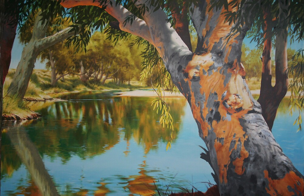River Gum by tomcosic