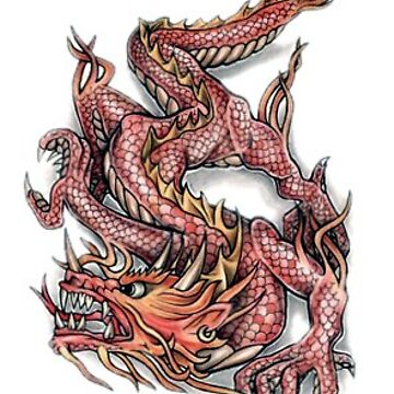 Dragon tattoo  by Keywebco