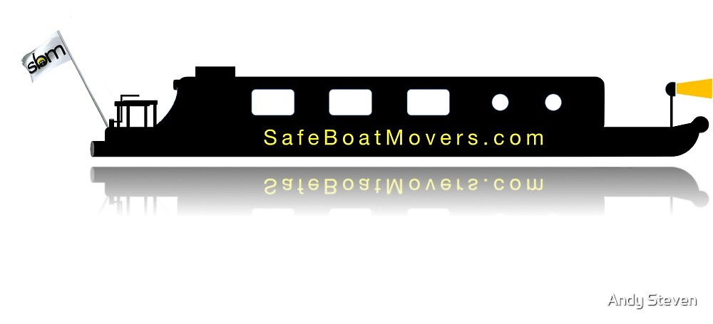 Safe Boat Movers Merch by Andy Steven