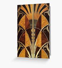 Art Deco Greeting Card