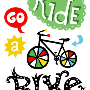 Ride a Bike ll - card  by andibird
